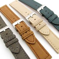 Chunky Leather Watch Strap with Comfortable Suede Finish 20mm 22mm 24mm C014